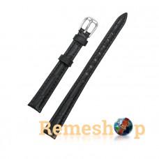 Ремінець шкіряний AONO SAN 8801 0032 чорний 10 мм