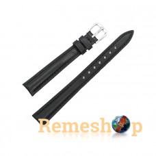 Ремешок кожаный AONO SAN 8807A 3089 черный 10 мм