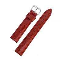 Ремешок кожаный AONO SAN 8801 3115 красный 16 мм