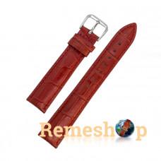 Ремінець шкіряний AONO SAN 8801 3989 червоний 21 мм