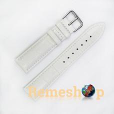Ремінець шкіряний AONO SAN 8801 0310 білий 20 мм