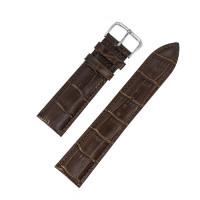 Ремешок кожаный AONO SAN 8801 1832 коричневый темный 20 мм