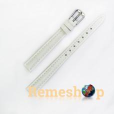 Ремінець шкіряний AONO SAN 8801 1843 білий 14 мм