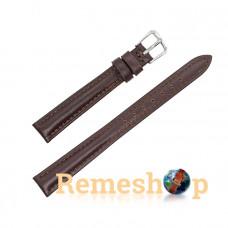 Ремешок кожаный AONO SAN 8807A 3091 коричневый темный 10 мм