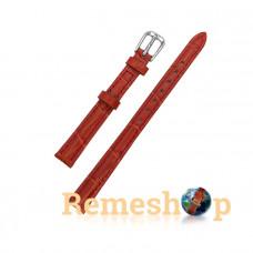 Ремінець шкіряний AONO SAN 8801 0036 червоний 12 мм