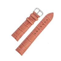 Ремешок кожаный AONO SAN 8801 3992 коралловый 24 мм