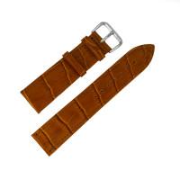 Ремешок кожаный AONO SAN 8801 0307 коричневый 20 мм