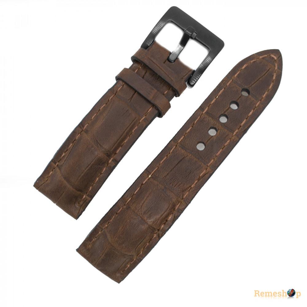 Ремешок Remeshop® Custome Crazy-Croc коричневый  22 мм арт.5114
