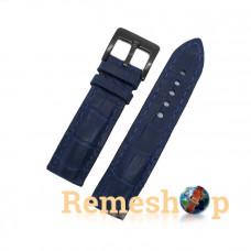 Ремешок Remeshop® Custome Crazy-Croc синий темный 22 мм арт.5118