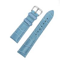 Ремешок кожаный AONO SAN 8801 3110 голубой 14 мм