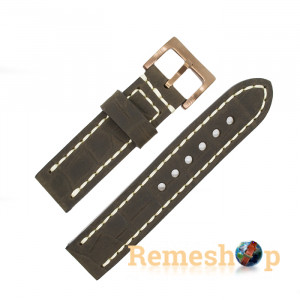 Ремешок Remeshop® HAND MADE WK-04 CR.02 А 24 мм арт 5633