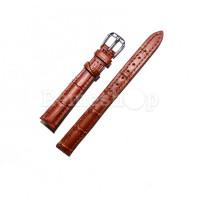 Ремешок кожаный AONO SAN 8801 1840 коричневый 12 мм