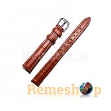 Ремінець шкіряний AONO SAN 8801 0008 коричневий 10 мм