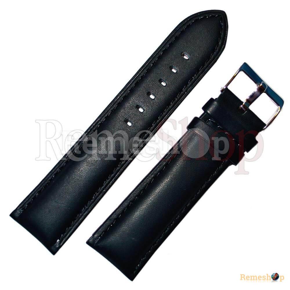 Ремешок кожаный BANDCO 202 черный 18 мм