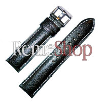 Ремешок кожаный CHERMOND 0377 зеленый 20 мм