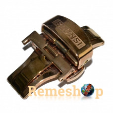 Застібка-автомат «Метелик» RATE 5403 рожеве золото 18 мм