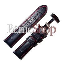 Ремешок кожаный HIHGTONE SH308С 3261 черный 18 мм