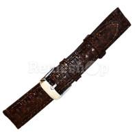 Ремешок кожаный BANDCO 951 коричневый темный 16 мм