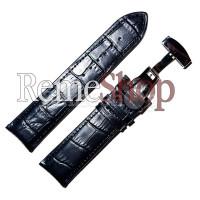 Ремешок кожаный HIHGTONE SH304С 1641 черный 18 мм
