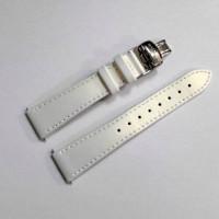 Ремешок кожаный BALMAIN 2627 белый 18 мм