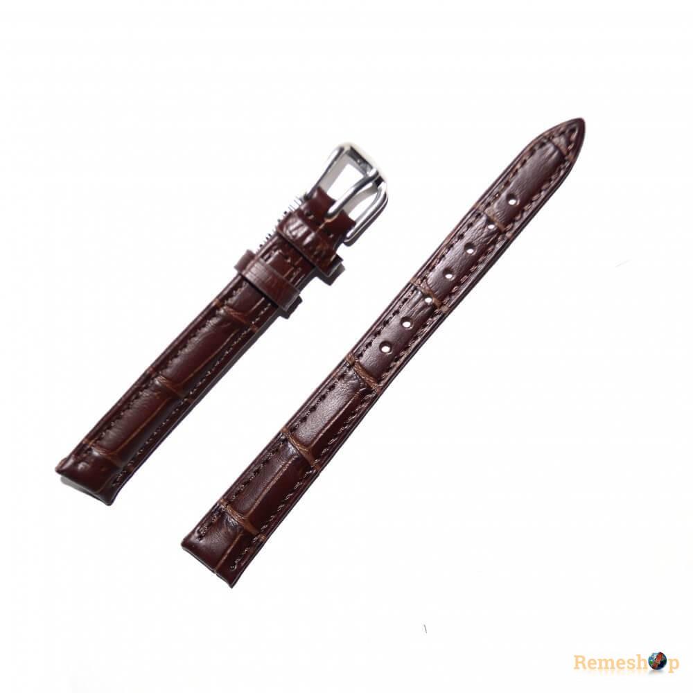 Ремешок кожаный AONOSAN 8801  0620 коричневый темный 24 мм