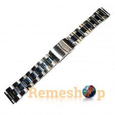 Браслет стальной INOX 3448 18 мм