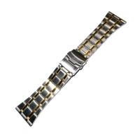 Браслет стальной INOX 3520 комбинированый 30 мм