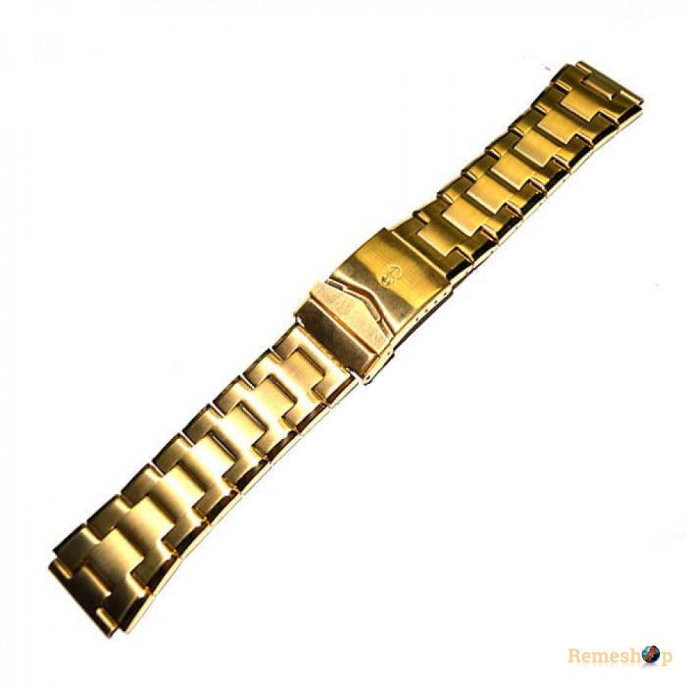 Браслет стальной INOX 3548 <<ЗОЛОТО>> 20 мм