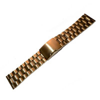 Браслет сталевий Slava® 3794 << ЗОЛОТО >> 22 мм