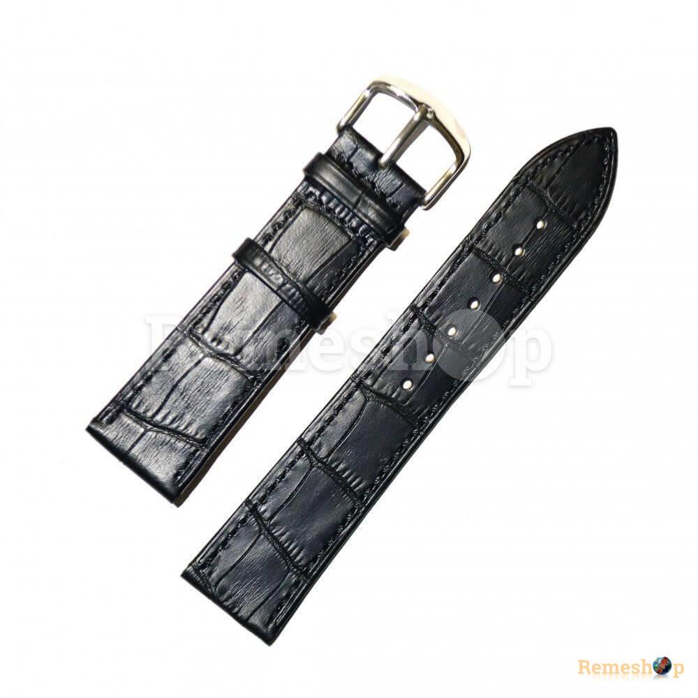 Ремешок кожаный HIHGTONE SH392 0809 черный 22 мм