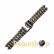 Браслет сталевий STAILER 3429 комбінований 18 мм