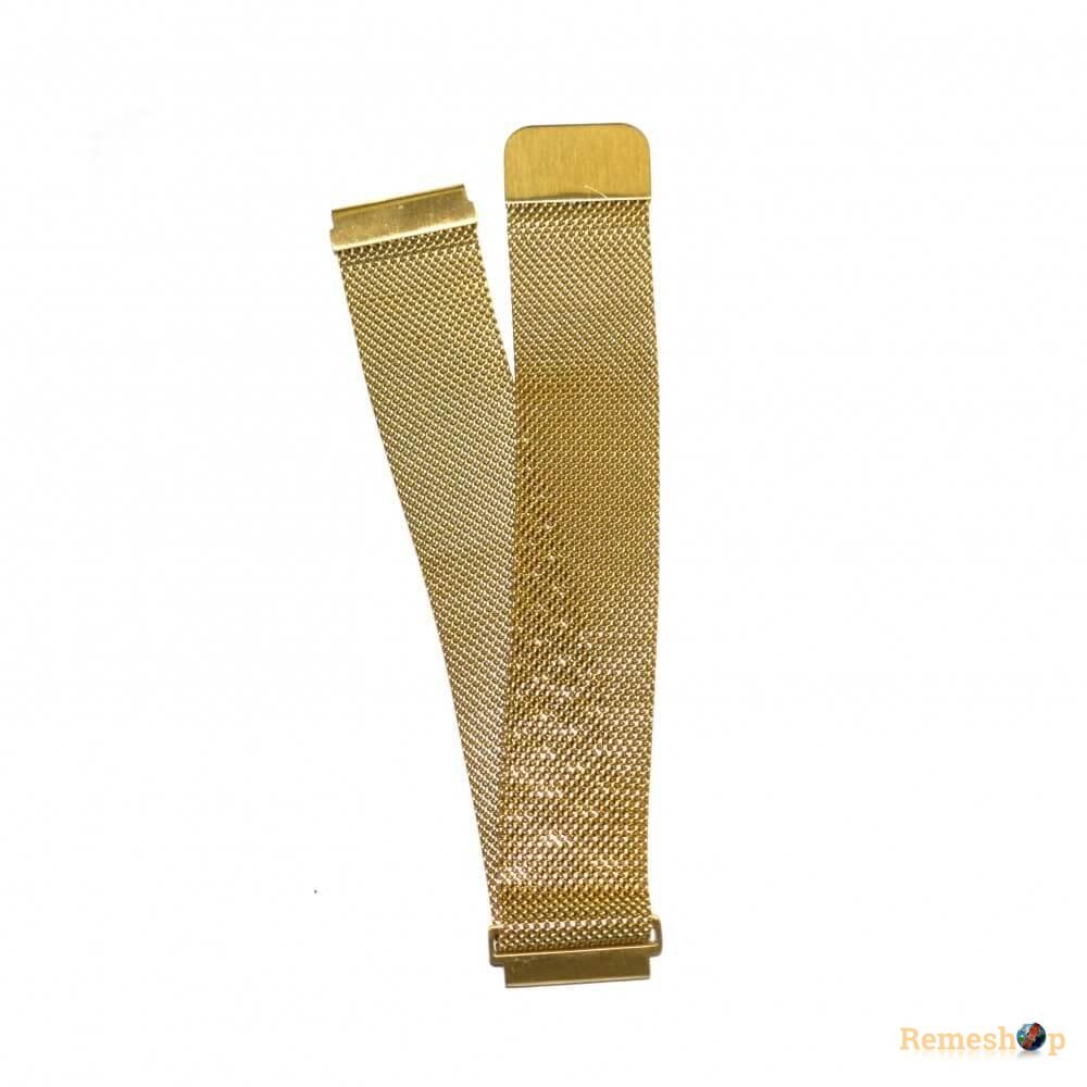 Браслет сталевий Slava® 4266 << ЗОЛОТО >> 20 мм