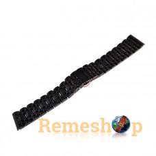 Браслет стальной Slava® SL BC-220 4364 черный 20 мм