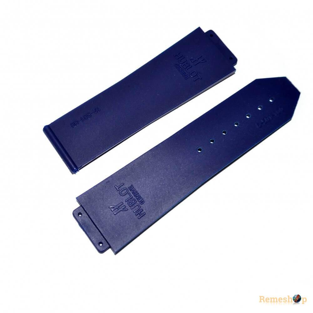 Ремешок каучуковый HUBLOT 6010 черный 19 мм