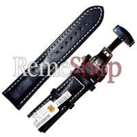 Ремешок кожаный HIHGTONE SH359С 1637 черный 20 мм