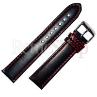 Ремешок кожаный CHERMOND 973 черный 18 мм