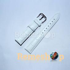 Ремінець шкіряний AONO SAN 8801 0104 білий 16 мм