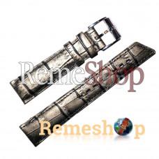 Ремешок HIRSCH PRINCESS  серебряный 16 мм арт.2093
