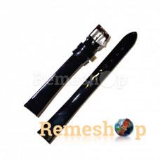 Лаковий ремінець шкіряний STAILER 1463 чорний 08мм
