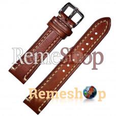 Ремешок  HIRSCH LIBERTY коричневый светлый 18 мм арт.2108