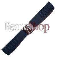 Ремешок каучуковый SPORT 2183 черный 20 мм