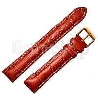 Ремешок кожаный BANDCO 208 коричневый светлый 18 мм
