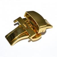 Застежка-автомат «Бабочка» RATE 5405 золото 22 мм