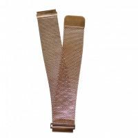 Браслет сталевий Slava® 4261 << РОЖЕВЕ ЗОЛОТО >> 22 мм
