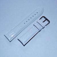Ремешок кожаный AONO SANL 8801 3947 белый 12 мм