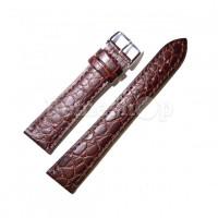 Ремешок кожаный CHERMOND 1326 коричневый темный 18 мм
