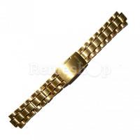 Браслет стальной STAILER 3403 <<ЗОЛОТО>> 20 мм