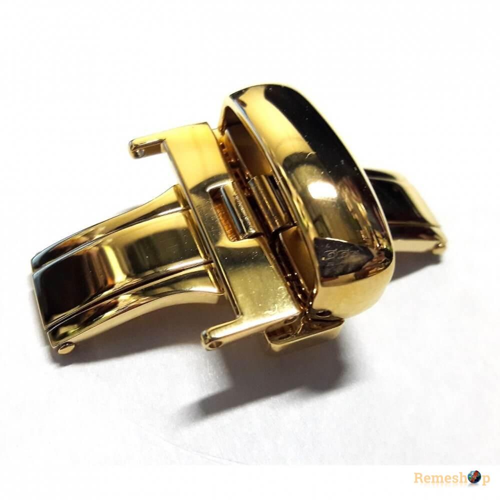 Застежка-автомат «Бабочка» Stailer DS-0352 5278 золото 24 мм