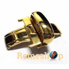 Застежка-автомат «Бабочка» Stailer DS-0352 2499 золото 22 мм