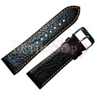 Ремешок кожаный BANDCO 930 черный 18 мм